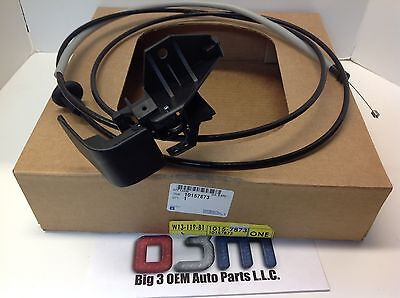 Chevrolet Lumina Buick Regal Primary Hood Latch Release CABLE w/Handle new OEM