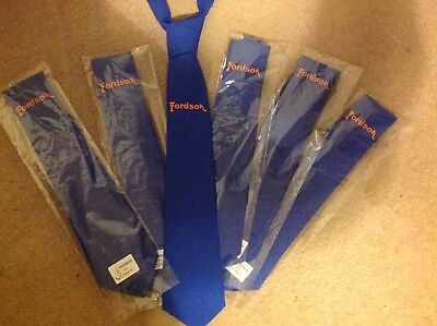 Fordson Royal blue men's tie