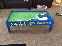 Wiggles wooden train table Beenleigh Logan Area Preview