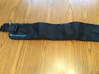 ScubaDeepSee Soft Weight Belt - Size Large - Brand New