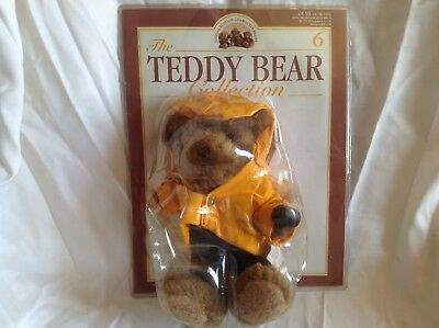 The Teddy Bear Collection Magazine complete with No.6 Fergus the Fisherman