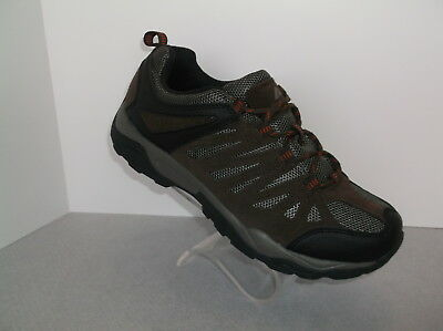 OZARK TRAIL (MESH LOW HIKER) LEATHER & MESH FLEXIBLE MIDSOLE MEN'S HIKING NIB