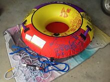 Inflatable Tow Tube & ski rope Tamborine Ipswich South Preview