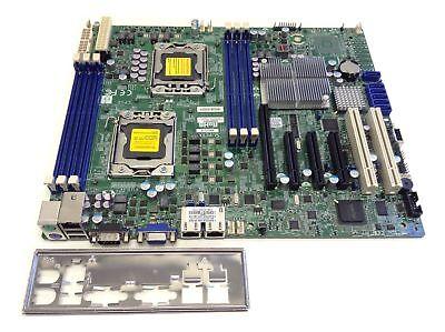 Supermicro X8DTL-iF Dual Intel E5530 Xeon LGA1366 DDR3 ATX Server Motherboard IO