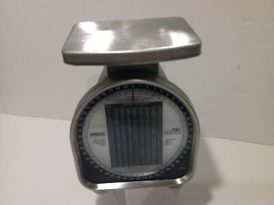 Pelouze Postal Scale Y50 January 2001 Rates Rated 50 Pound In 2 Ounce Increments