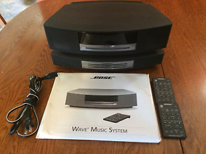 Bose Wave Music System and 3CD Changer