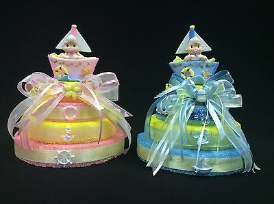 Nautical  Baby Shower Cake Topper, Centerpiece, Decoration, Ocean, Baby Girl/Boy - Nautical Cake Decorations