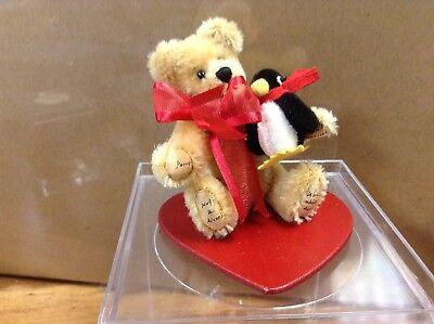"Deisgner Miniature Bear ""Perry"" by artist Becky Wheeler LE"