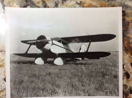 Army Air Force Beech Model 17 Staggerwing Biplane Airplane Aircraft Photo #371