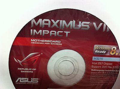 Asus Dvd Support  Driver Utility For Asus Maximus Vii Impact   Original  M3270