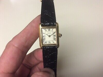 Vintage Tissot Swiss Made 18k GP 17Jewels Manual Wind Luxury Women's watch