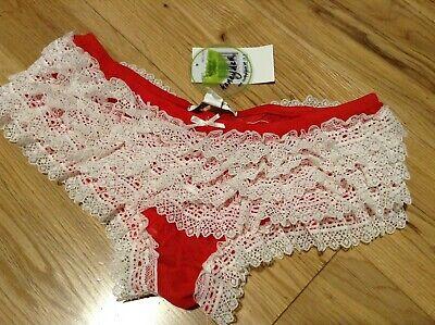 Honeydew Intimates Ladies Frilly Rara Pants Knickers Size 10