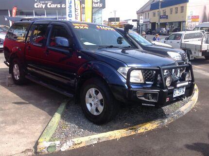 Nissan NAVARA  Turbo diesel. 4WD. Hobart CBD Hobart City Preview