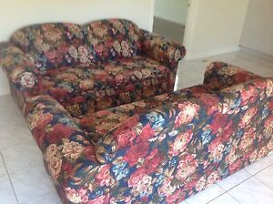PAIR OF SOFAS/LOUNGES (ONE A BED SETEE) Bentleigh East Glen Eira Area Preview