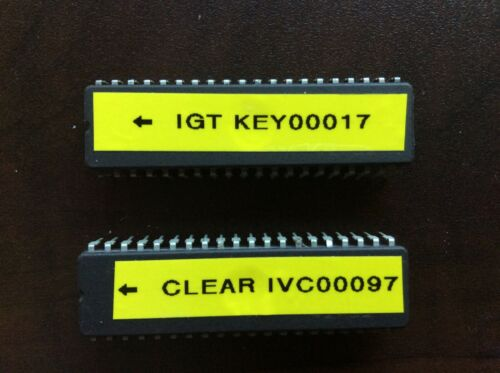 IGT S2000 CLEAR CHIP SET