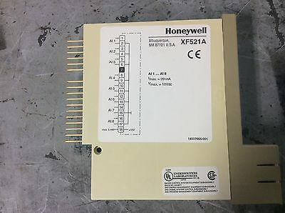 Honeywell XF521A Analog Input Module, Used, WARRANTY