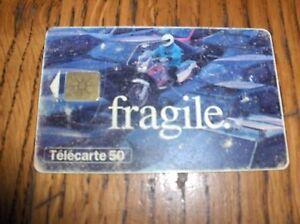 TELECARTE 50 - France - TELECARTE 50FRAGILE08/95Tirage 1 000 000 ex - France