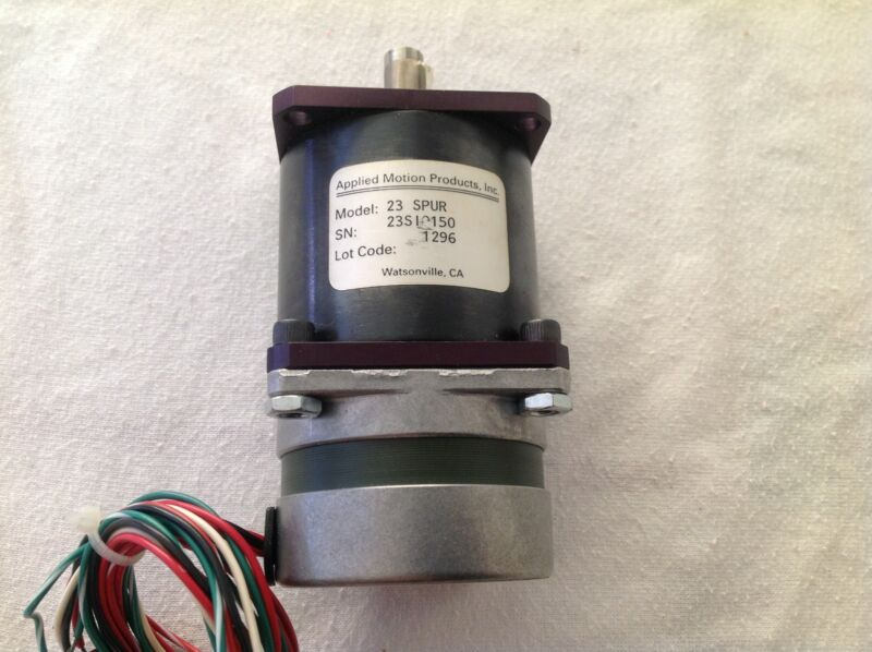 Applied Motion Control Stepper Motor Spur Stepping Model 23 CNC 7023-006
