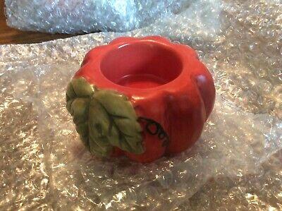New Yankee Candle Autumn Splendor Pumpkin Tea-Light Holder Thanksgiving Dinner