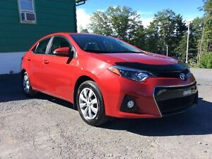 """2015 Toyota Corolla """"""""S"""""""" MODEL WITH A/C - CRUISE - BACKUP CAMER"""