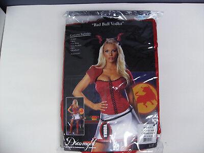 DREAMGIRL BAD BULL VODKA DEVIL WOMEN HALLOWEEN COSTUME - Bad Halloween Costumes