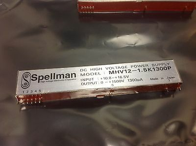 Bellnix Spellman Mhv12-1.5k1300p 0-1500v Dc High Voltage New Nos Rare 129