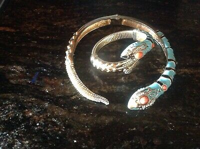 Auth. ANNA DELLO RUSSO at H&M Snake NECKLACE and Bracelet