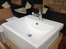 Brand new in box semi recessed hand basin & basin mixer Colonel Light Gardens Mitcham Area Preview