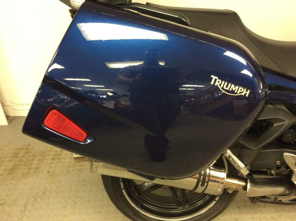 Triumph Sprint 1050 GT 2010 / 60 Blue - Full Luggage - Really nice condition