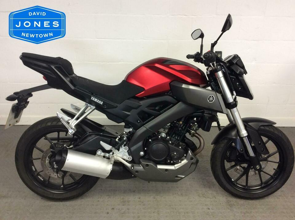 Yamaha MT125 ABS MT 125 2015 / 15 - 1 Owner - Only 650 miles omn the clock