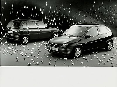 Pressefoto 1995 Opel Corsa Grand Slam 21,5x16,5 cm press photo Auto PKW Autofoto