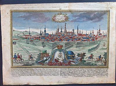 Gesamtansicht Königsberg Kupferstich