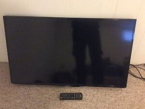 """42"""" 1080p tv with wall mount"""