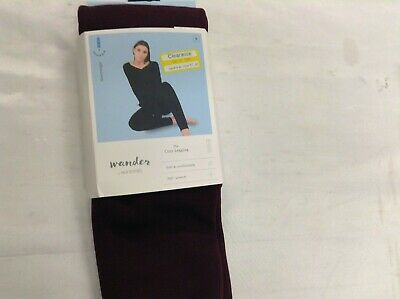 Wander by Hottotties Women's Velvet Lined Leggings SMALL BROWN
