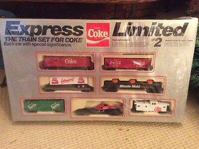 """Vintage Express Limited""""The Train Set for Coke""""Train Set...New Old Stock"""