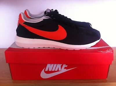 NIKE Sneaker black / orange / NEU / OVP / US 11,5 / UK 10,5 / EUR 45,5 OLDSCHOOL