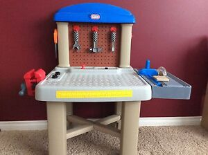 Little Tikes Workbench with tools and screws