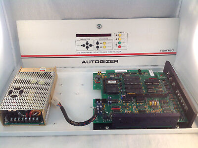 Tomtec Autogizer 700-161 System Power Supply And Main Board