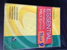 Essential Mathematics Year 9 VELS Edition Keilor Downs Brimbank Area Preview