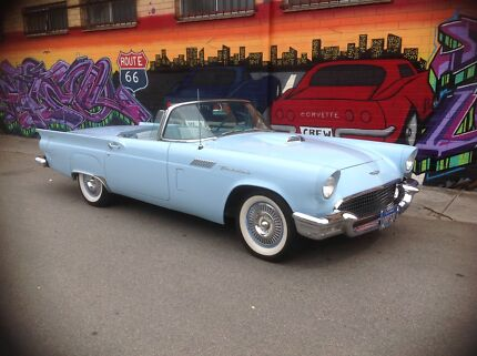 1957 Ford Thunderbird 312, V8 Automatic $65,990  Royal Park Charles Sturt Area Preview
