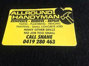 Allround Handyman Ballarat Central Ballarat City Preview
