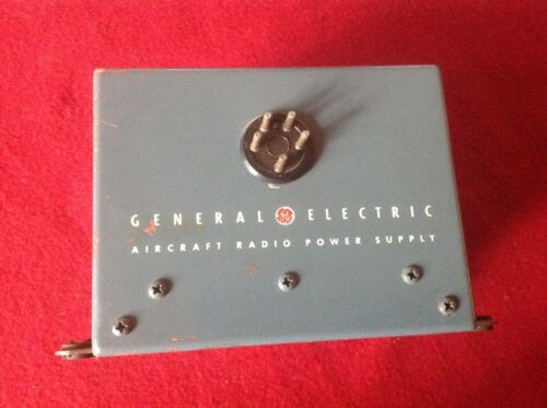 General Electric Aircraft Radio Power Supply