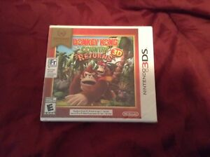 Donkey kong game 3ds