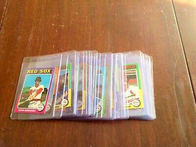1975 Topps Mini's BB Singles U-Pick (NRMT-NMMT) Set Break(Free Shipping)#600-660 Free Mini Pick Set
