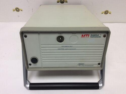MTI Analytical Instruments M200H Micro Gas Chromatograph Lab Test Equipment