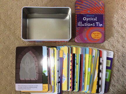 Optical Illusions Tin - Brand New