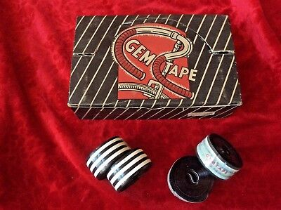 "/""GEM/"" Plastic Bar Tape NOS Vintage 1960/'s Opaque Red"