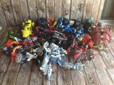 BULK LOT of LEGO BIONICLE  & TOMY ROBOT TOYS VARIOUS LEGO SETS KIDS BLOCKS