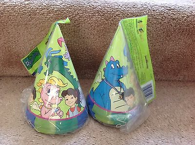 New DRAGON TALES Birthday Party Hats for 16 kids