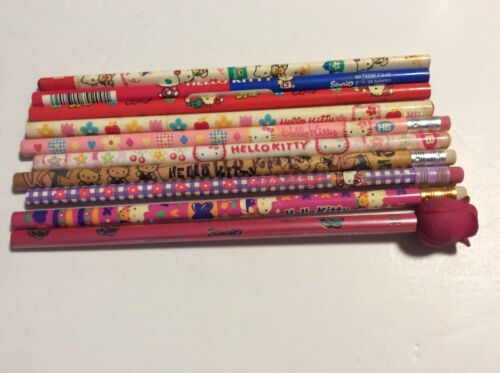 Hello Kitty Vintage Unused Pencil Lot